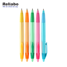 Reliabo Wenzhou Factory Wholesale Custom Logo Printed Promotional Hotel Plastic Ball Pen