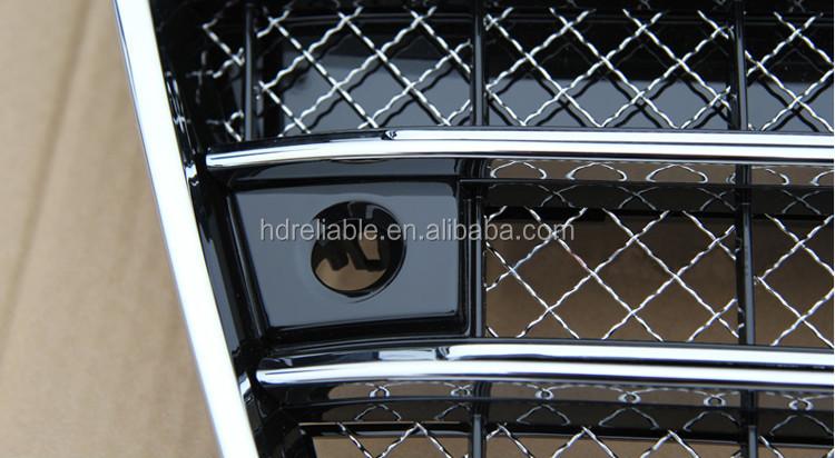 wholesale for audi a8 d3 d4 a8 chrome front grill for. Black Bedroom Furniture Sets. Home Design Ideas