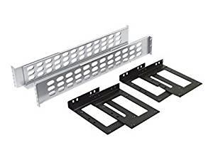 """Apc - Rack Rail Kit - Gray - 19"""""""