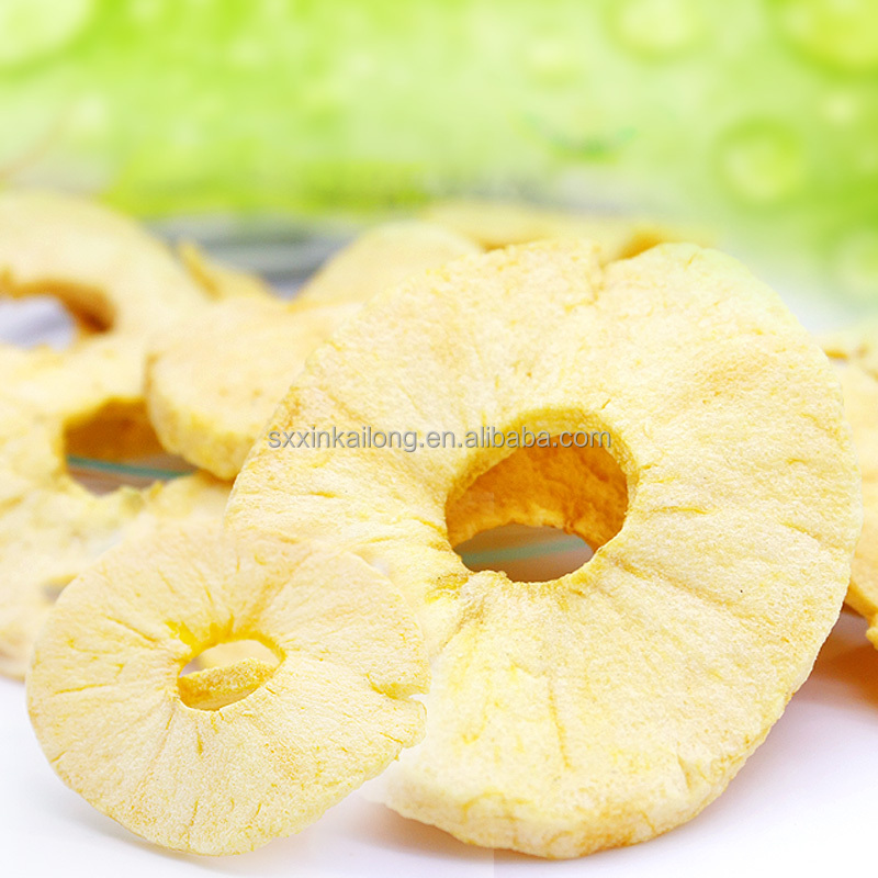 China delicious natural dried apple chips in bulk