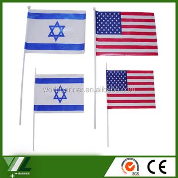 Promozionale Colorazione Sventolando Bandiere Del Mondo Con Nome