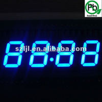 Super bule 0.56'' 4 digit 7 segment led display for supermarket price tag
