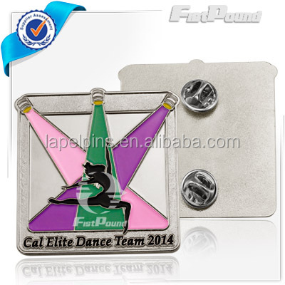 Cal Elite Dance Team 2014 soft enamel pins