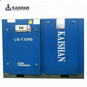 low niose stationary 116 psi 175 cfm screw air compressor For Textile Industry