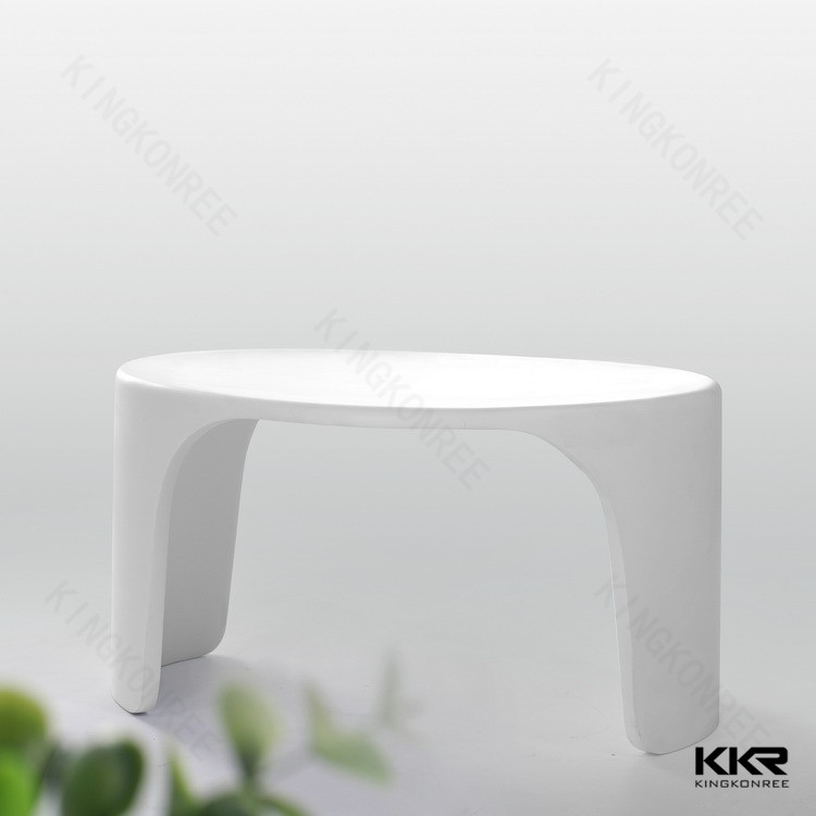 wholesale artificial stone resin shower stool for bathroom