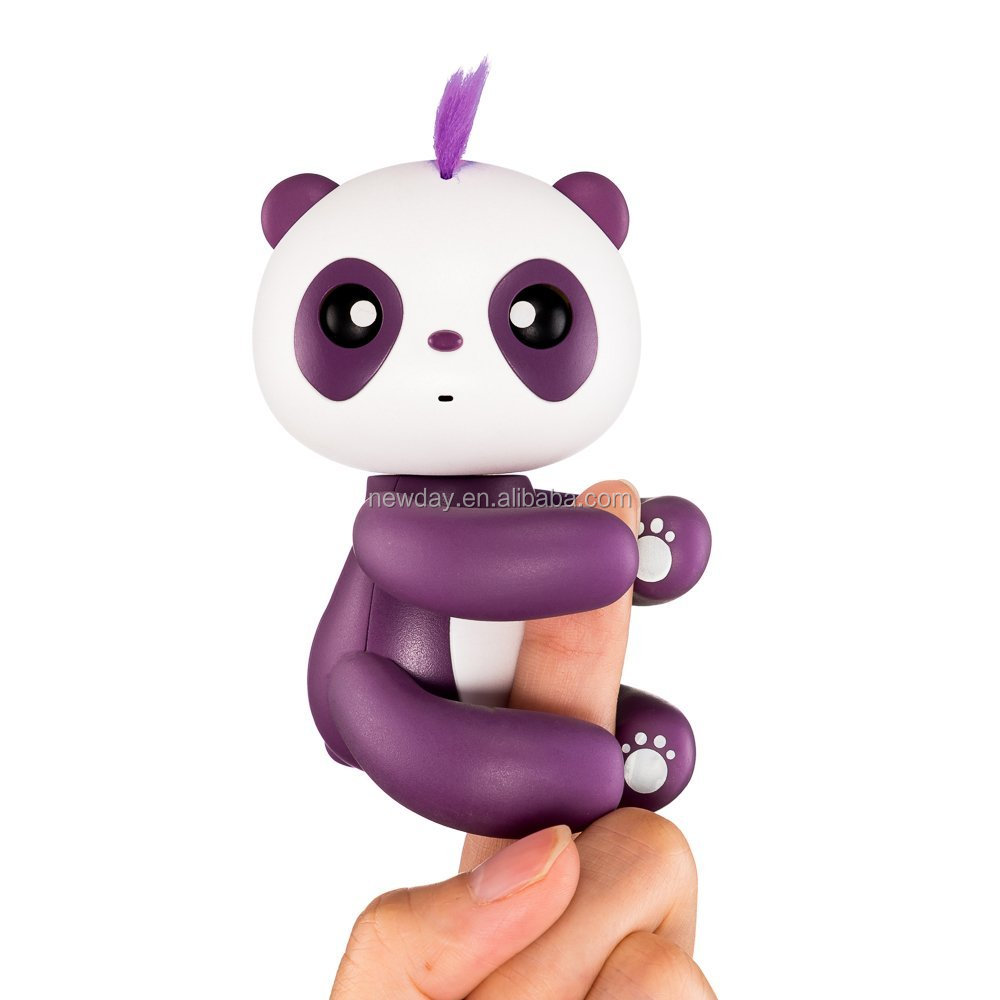 Promotional gift Finger Panda Kid Toy Finger Pupet Baby gift set