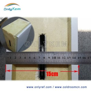 PUR foam sandwich panels for cold room install