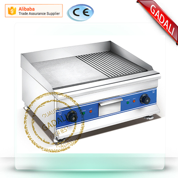 2017 hot selling factory price griddle for bbq, electric cheap electric griddle, professional griddle(ZQW-600E)