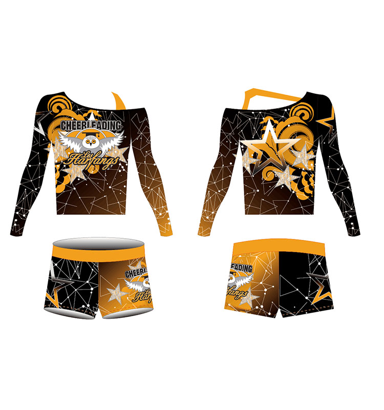 Wholesale  Custom Color All Star Sublimation Adult Cheerleading Uniforms