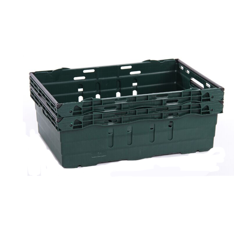 Vented stack nest plastic fruit & vegetable crate