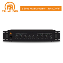 RH-<span class=keywords><strong>AUDIO</strong></span> 6 Zona Mixer <span class=keywords><strong>Audio</strong></span> <span class=keywords><strong>Amplifier</strong></span> 100 V Rak Gunung <span class=keywords><strong>Amplifier</strong></span>