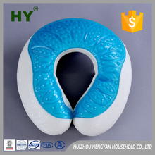 High Quality U-shaped Cooling Gel Memory Foam Pillow Travel Neck Pillow