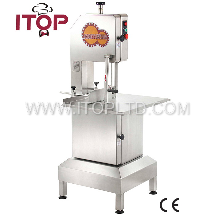 JG300 electric butcher meat bone cutting saw machine