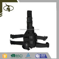 Tactical Drop Leg Holster Custom Military Leather Shoulder Holster China