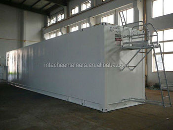 Mobile Fuel Storage Tank Container Stationdiesel Petrol Station