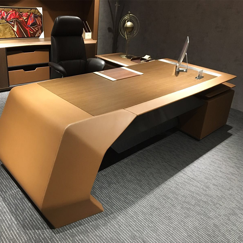 Foshan Office Furniture New Design Luxury Desk Modern Ceo