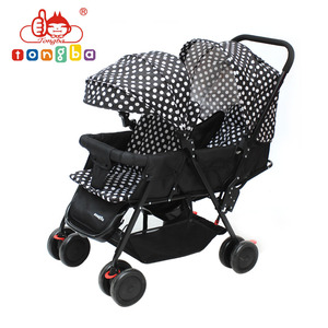 Manufacture 4 Wheels Baby Trend Double Stroller with EN1888