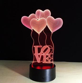 Veilleuse cadeaux Hologramme Lampe Noël Lampes Bureau Colorées Jouet 3d Jouer enfants Buy Enfants Personnalisé De Illusion Led Nuit 0wm8OvNn