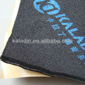 car sound deadening material sound proofing foam pad