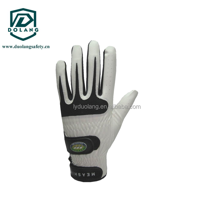 Custom Logo Flexible Lycra Men Golf Glove One Size Universal