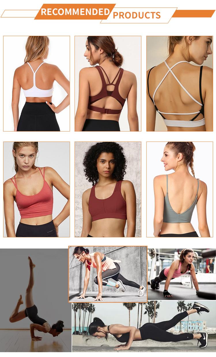 Danfirst Auf Lager Frauen Hohl Sexy Sport Tragen Workout Yoga Bh