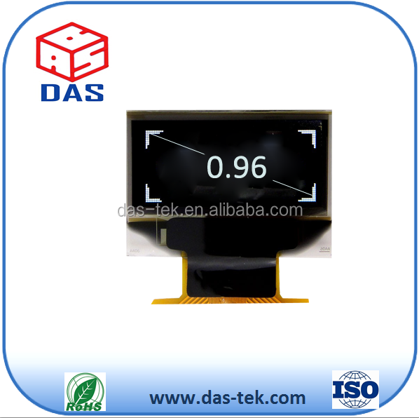 SPI interface 64x128 dots 0.96 inch oled display