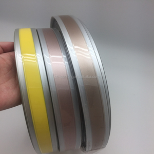 Edging strip rolls/flexible pvc strip flexible plastic pvc roll/cabinet  edge trim