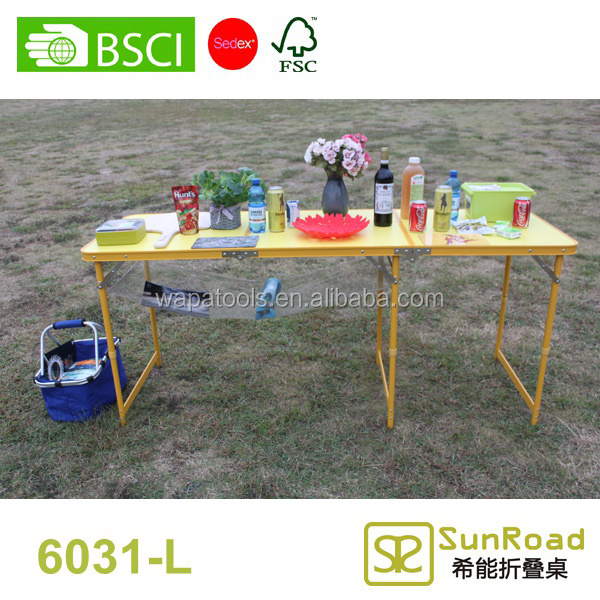 3 Sections (1.8m 6') outdoor octagonal table