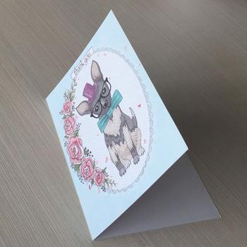 Custom Handmade Printed Diy Birthday Card Thank You Cards Buy