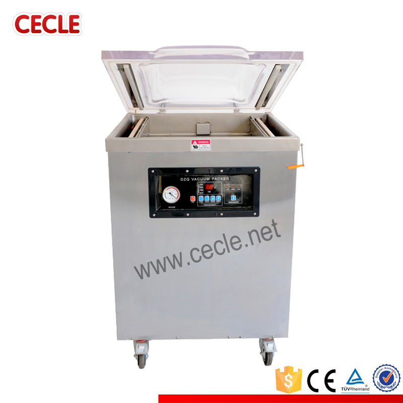 Multipurpose mozzarella vacuum thermoforming packaging machine