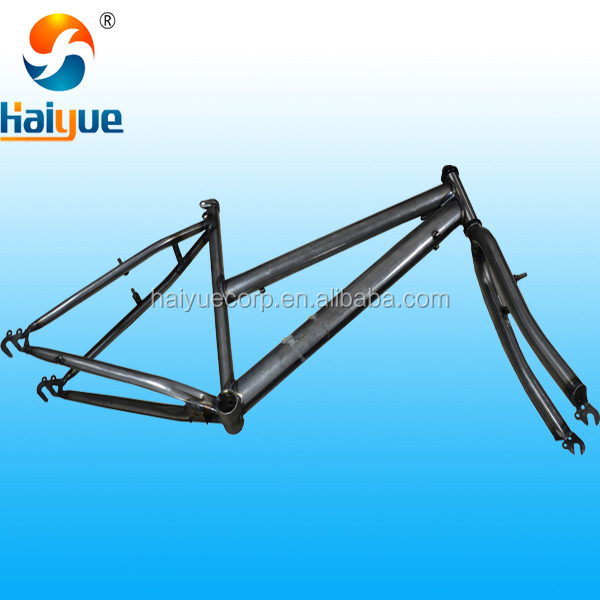 steel stainless strong MTB bicycle frame for lady