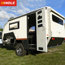 Kindle custom australian heavy duty travel camper trailer