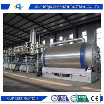 Waste Tire Recycling To Diesel Mini Refinery Diesel Distillation