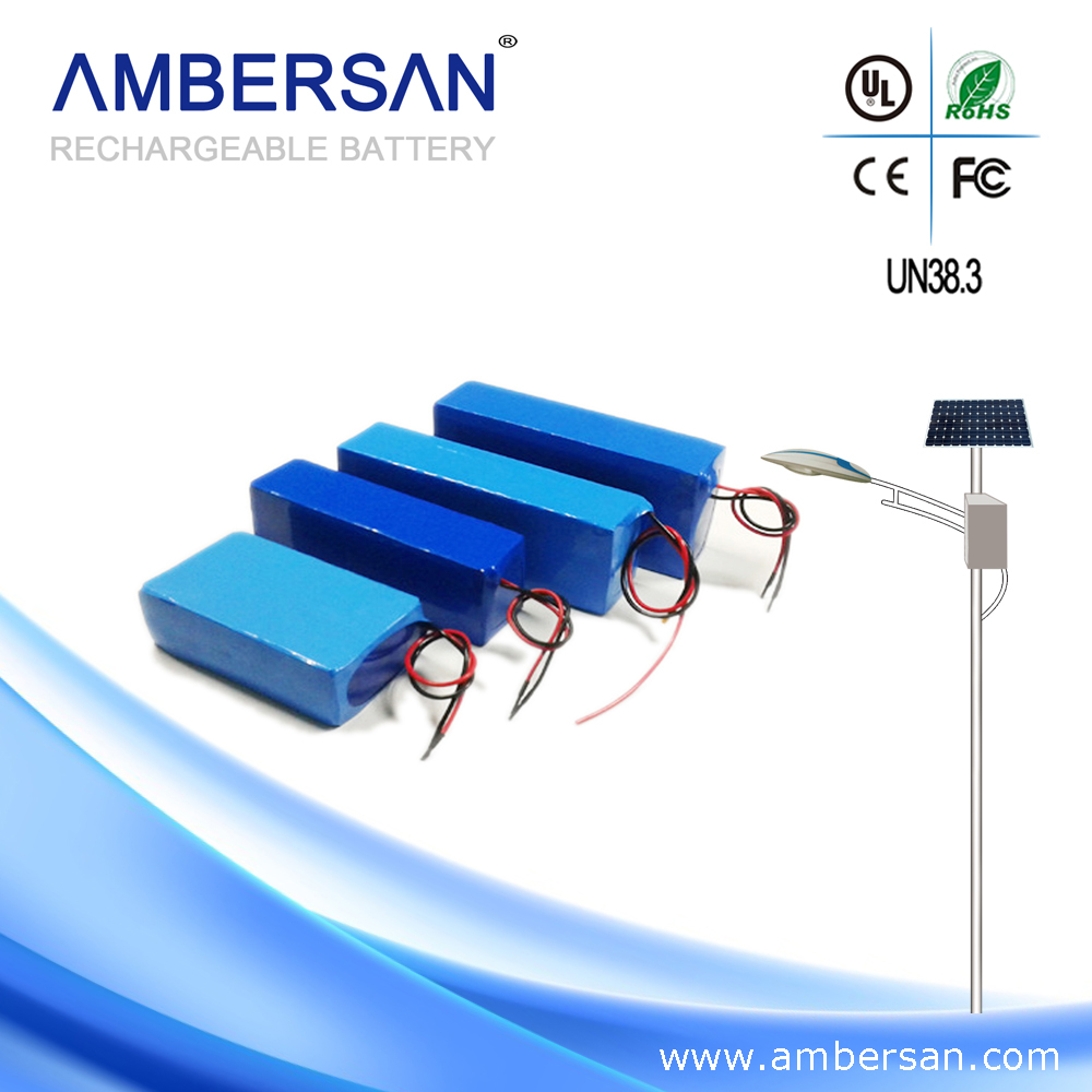 China wholesale batery pack for street light/home solar system
