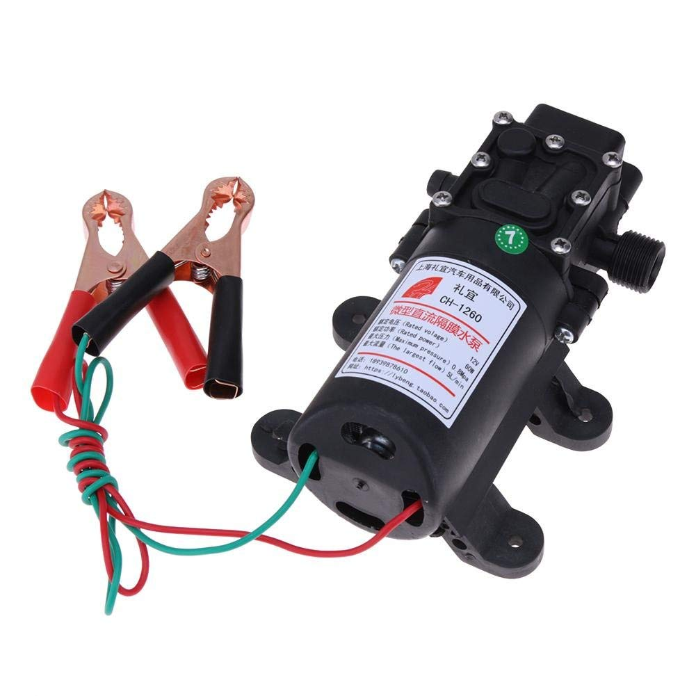 Fuel Pump Hydraulic Engine 60W 12V Electric Oil Extractor Transfer PumpMethanol Oil Diesel Fuel Pump Hydraulic Engine
