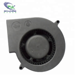 Plastic Material fan dc blower 97x97x33mm IP 65 air blower fan low voltage waterproof fan