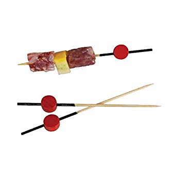 Natural Decorative Skewers Fruit Tools Disposable Bamboo Skewer