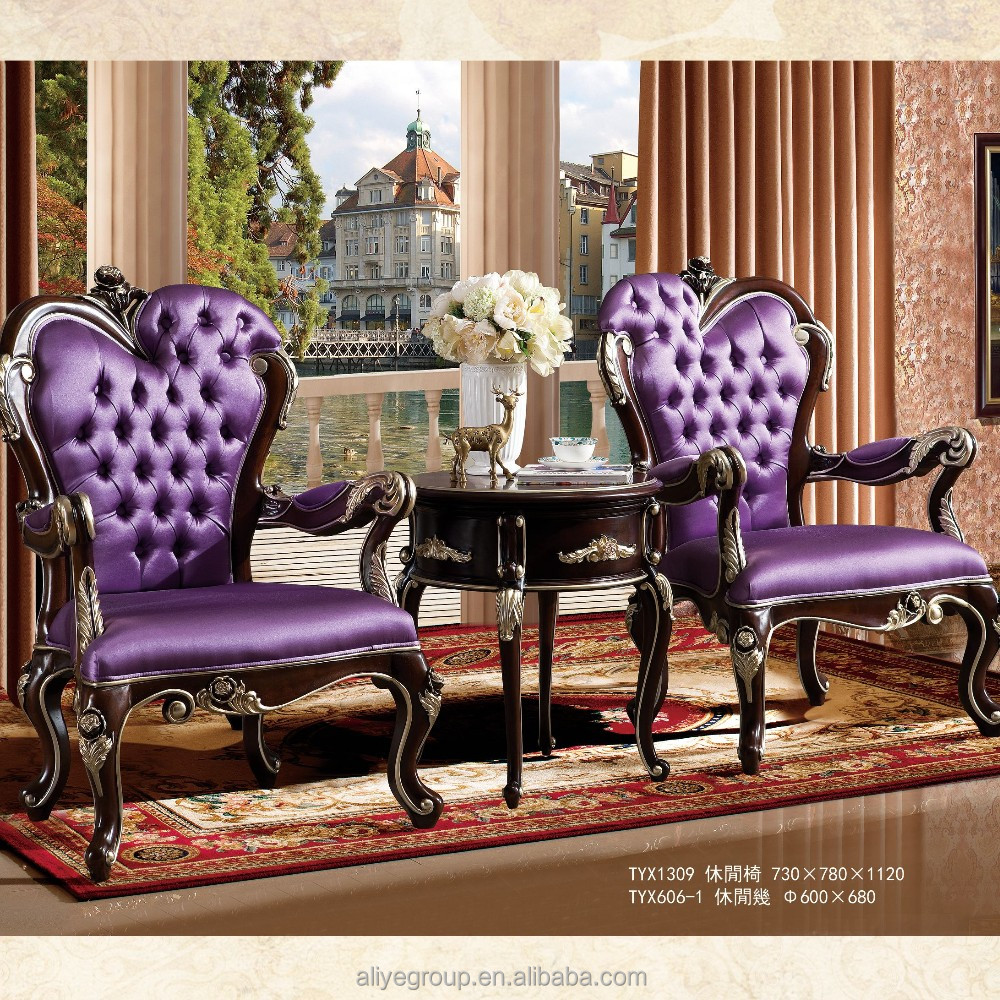 Tyx1313 Home Furniture Living Room Sofa Classic Armchair Leather Luxury Sofa Chair 1 Seat View Living Room Furniture Aliye Product Details From Guangdong Luxury Homey Furniture And Interior Decoration Co Ltd On