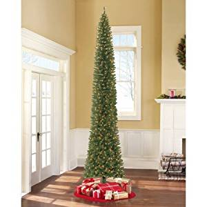 Get Quotations Holiday Time Pre Lit 12 Brinkley Pine Artificial Christmas Tree Clear Lights