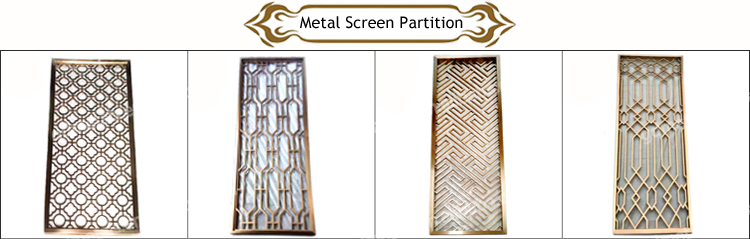 Exterior garden metal stainless steel decorative art wall cnc metal laser cut panel.