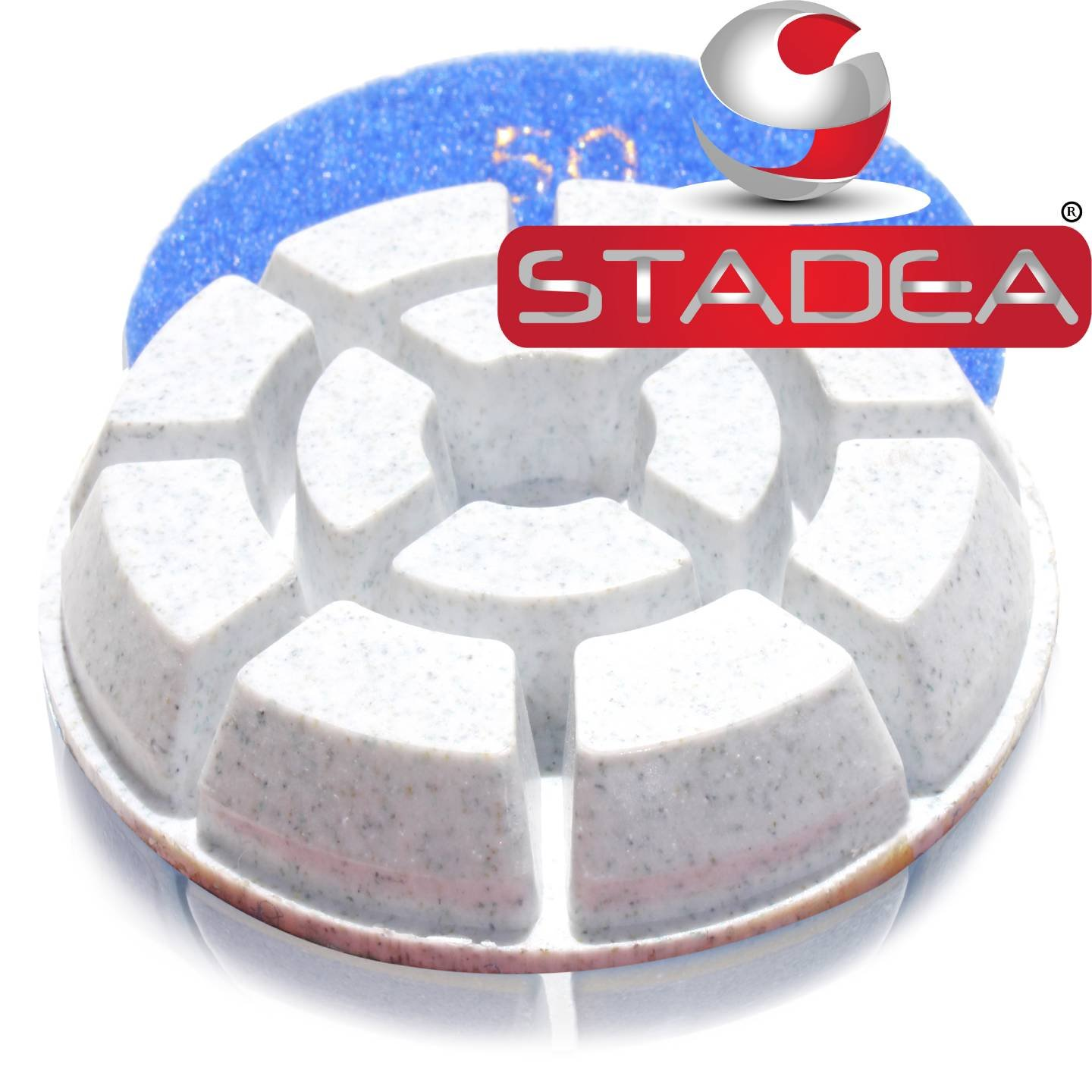 concrete floor polishing pads polisher pad - Grit 50 By Stadea