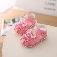 New arrival soft sole led kids girl shoes