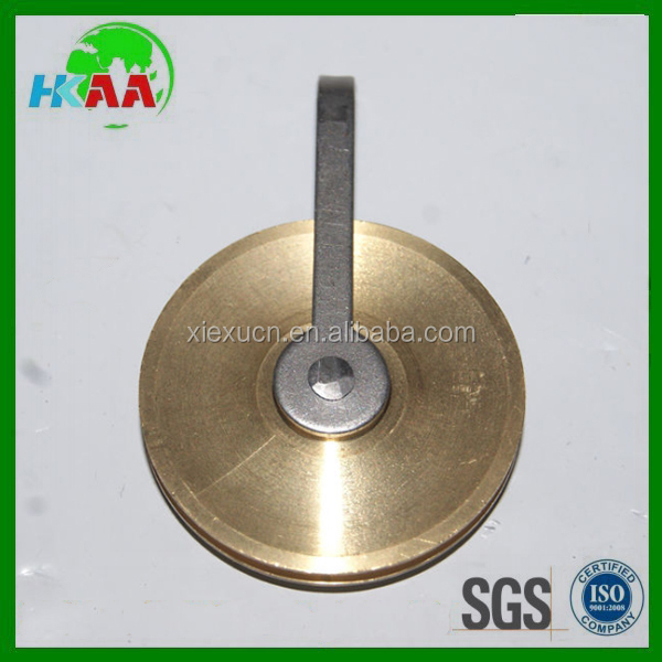 OEM high quality custom brass u groove pulley for sale