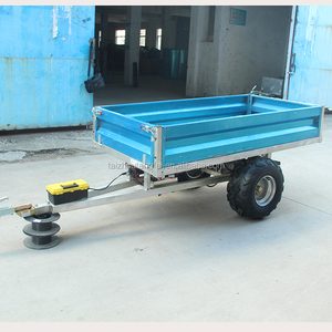 Small Agriculture single axle Truck trailer Utility Trailers