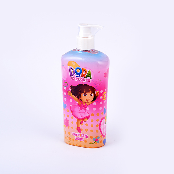 Private label 500 ml skin whitening kids douchegel groothandel bubble bad