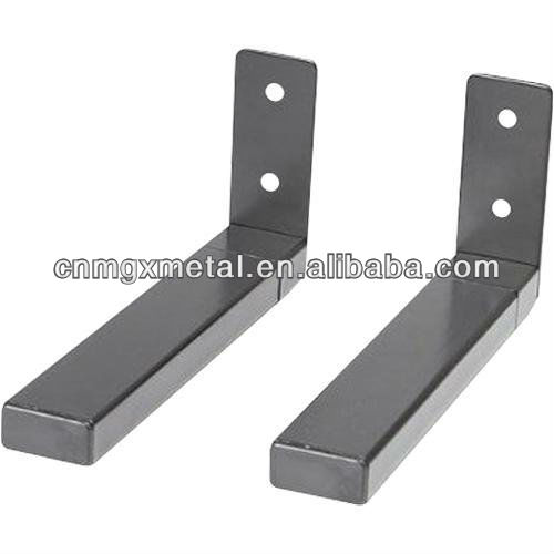 Customized OEM Made By Drawing Chrome Plated Stamping Mild Steel Mild Steel Mailbox Mounting Brackets