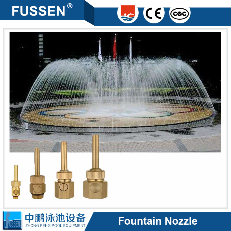 1 1/2 DN40 3 Tier Adjustable Water Fountain Nozzle Spray Pond Sprinkler - For Garden Pond, Amusement Park, Museum, Library