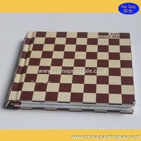 E-friendly hardcover book with cheap custom in Guangzhou