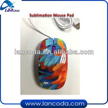popular products Sublimation 3D Wireless Mouse with wire
