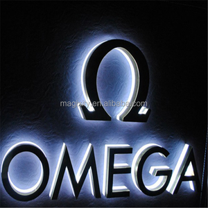 High quality outdoor large jewelry shop sign 3d led luminous letters